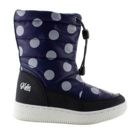 Navy Children's orthalion knee-high boots k1646109 Marino
