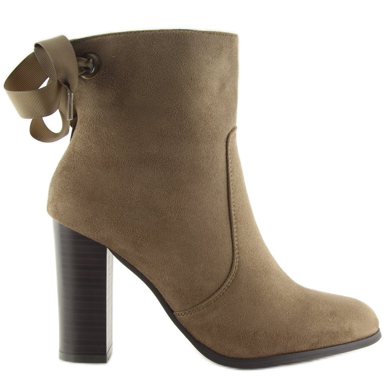 Ankle boots brown 1331 Khaki