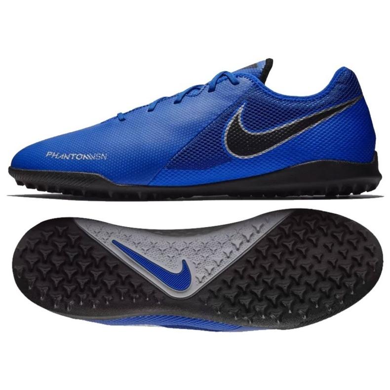 Football shoes Nike Phantom Vsn Academy Tf M AO3223-400 blue blue