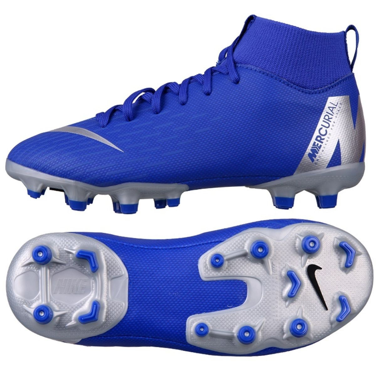 buy online 35948 1785a Nike Mercurial Superfly 6 Academy Mg Jr AH7337-400