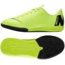 Nike Mercurial Vapor X 12 indoor shoes green