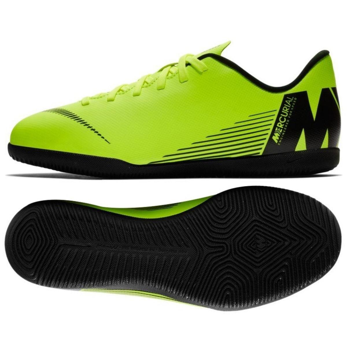 meet 5c874 cc35a Indoor shoes Nike Mercurial Vapor X 12 Club Ic Jr AH7354-701