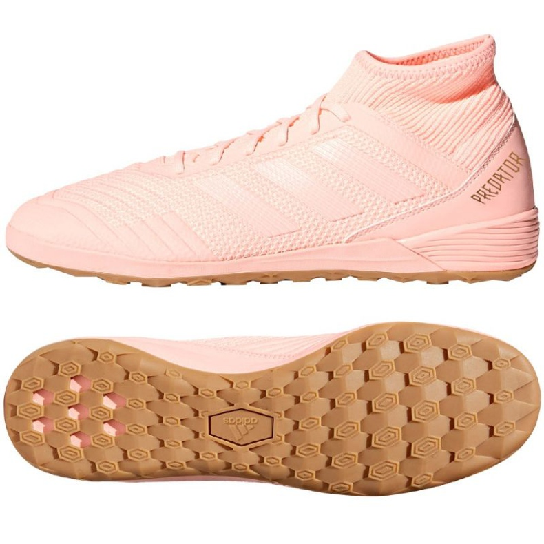 Adidas Predator Tango football shoes pink