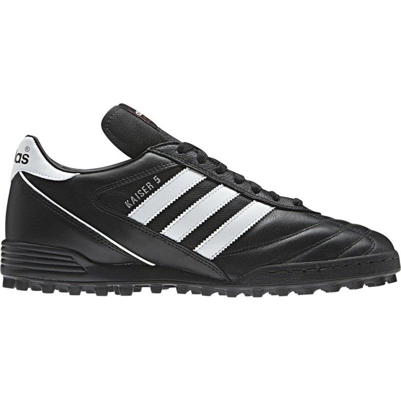 sitio Aditivo atravesar  Football shoes adidas Kaiser 5 Team Tf 677357 black black - ButyModne.pl