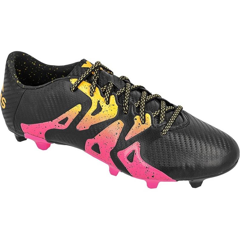 Football shoes adidas X 15.3 FG / AG M S74633 black black