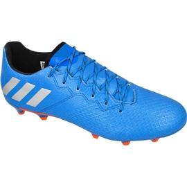 Football boots adidas Messi 16.3 FG M S79632 blue