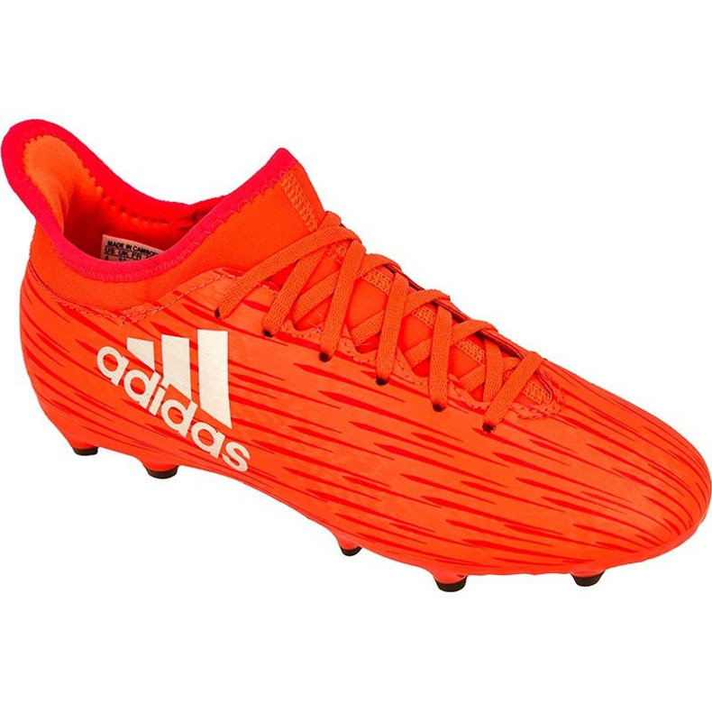 Football boots adidas X 16.3 Fg Jr S79489 red red