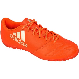 Adidas X 16.3 Tf M Leather football shoes red