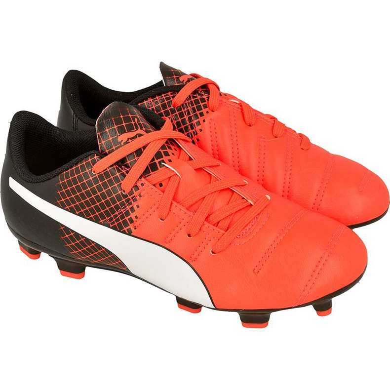 Football boots Puma evoPOWER 4.3 Fg Jr 10362403 red red