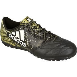 Adidas ACE 16.3 TF Leather M BB4197 football shoes black