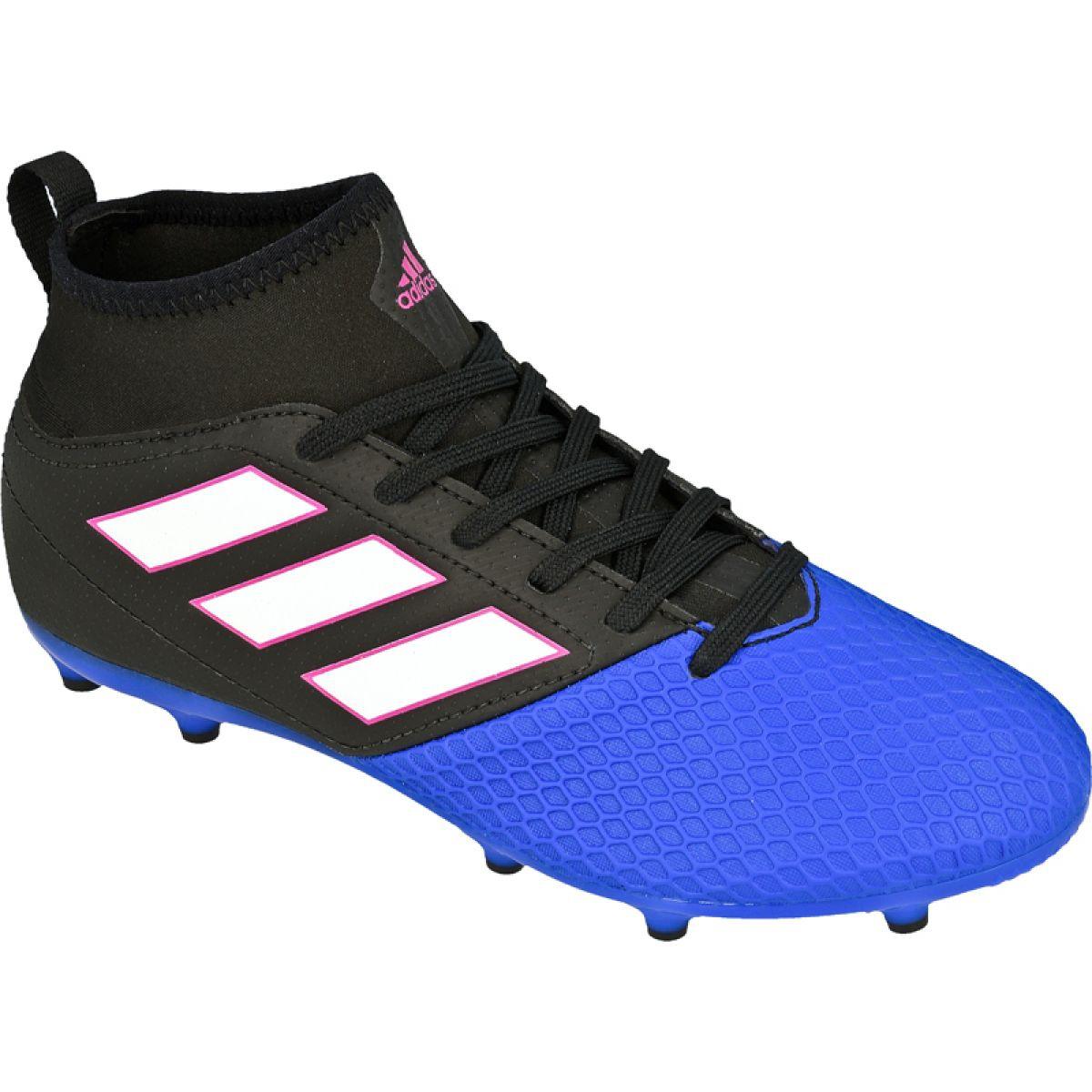 Adidas Ace 17.3 Fg Jr BA9234 football boots black multicolored