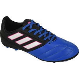 Adidas Ace 17.4 FxG Jr BB5592 football shoes black multicolored
