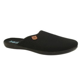 Black Slippers Adanex 21115 slippers