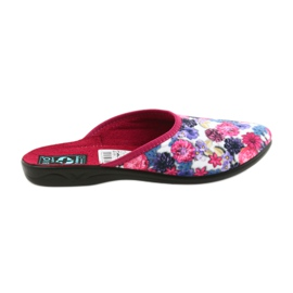 Multicolored Slippers velor Adanex 23773