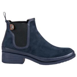 Kylie Booties Jodhpur boots blue
