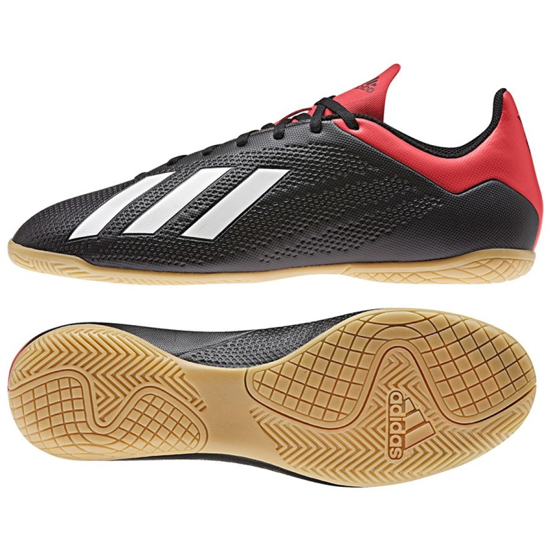 Indoor shoes adidas X 18.4 In M BB9405 black black