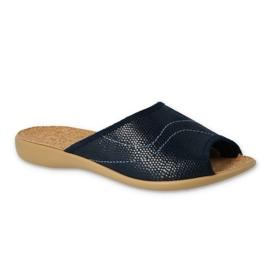 Befado women's shoes pu 254D093 navy