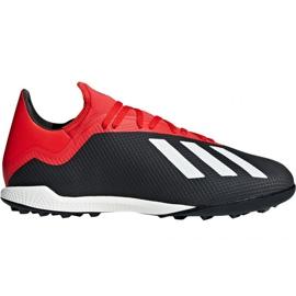 Football shoes adidas X 18.3 Tf M BB9398 black black