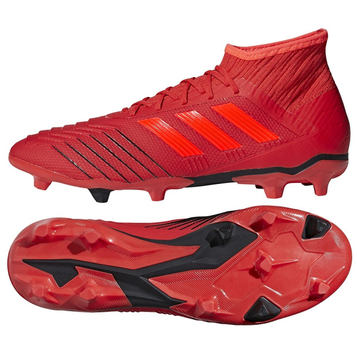 bosque Aventurarse Teoría establecida  Football boots adidas Predator 19.2 Fg M D97940 multicolored - ButyModne.pl