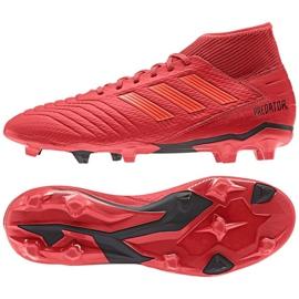 Football boots adidas Predator 19.3 Fg M BB9334 multicolored