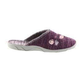 Befado womens shoes slippers 235d152 violet