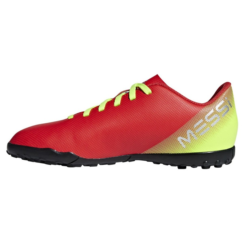 Football boots adidas Nemeziz Messi 18.4 Tf Jr CM8642 red multicolored