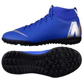 Nike Mercurial SuperflyX 6 Academy Gs Tf Jr AH7344-400 blue blue