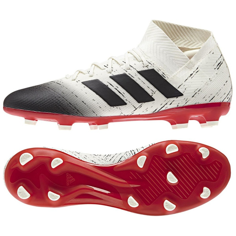 Football boots adidas Nemeziz 18.3 Fg M BB9437 white white