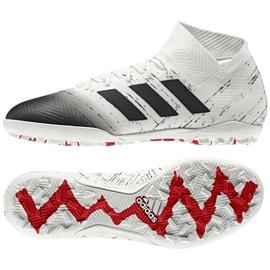 Football boots adidas Nemeziz 18.3 Tf M D97986 white white
