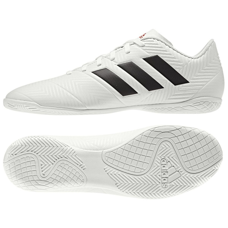 Adidas Nemeziz 18.4 In M D97996 indoor shoes white white