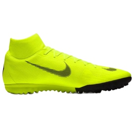 Nike Mercurial SuperflyX 6 Academy Tf M AH7370-701 Football Boots yellow multicolored
