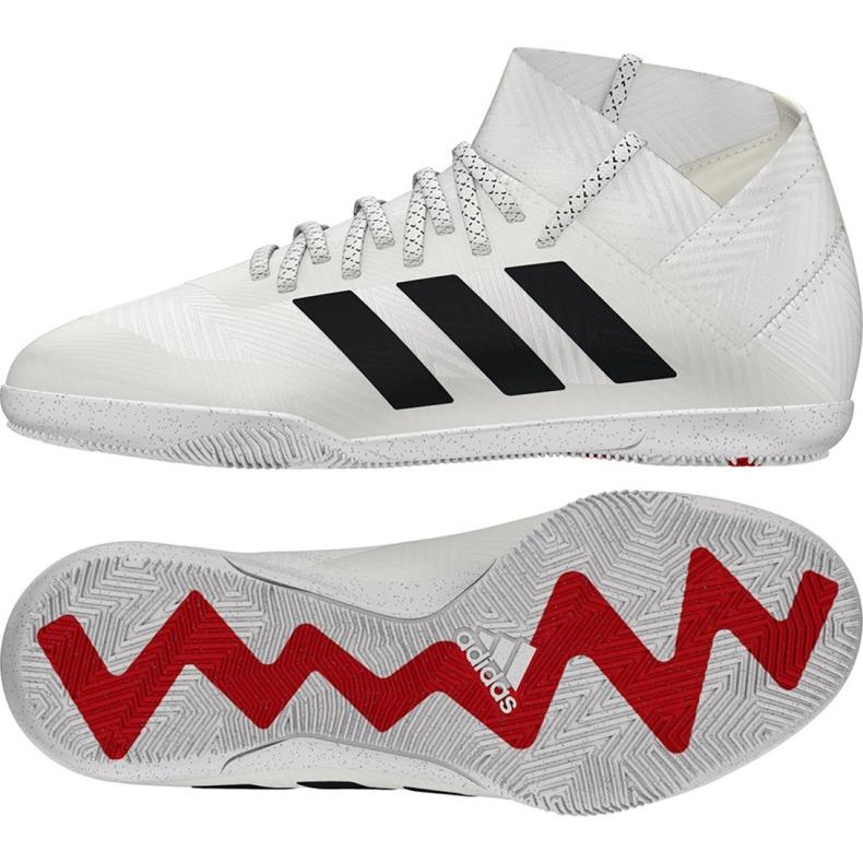 Indoor shoes adidas Nemeziz 18.3 In Jr CM8514 white white