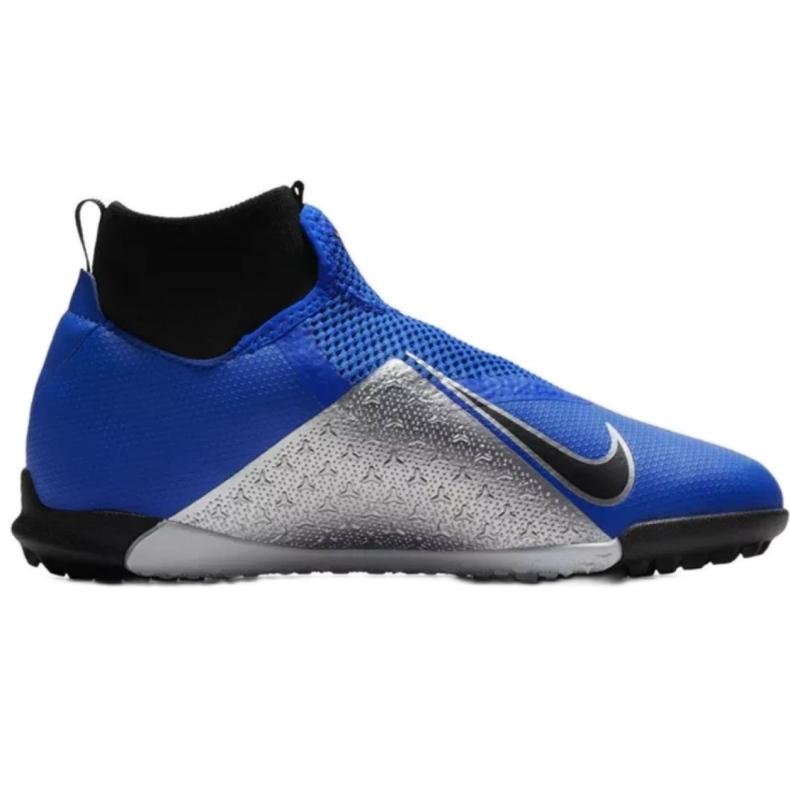 Football shoes Nike Phantom Vsn Academy Df Tf Jr AO3292-400 blue blue