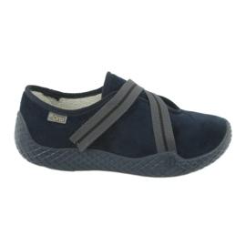 Befado women's shoes pu - young 434D015 navy