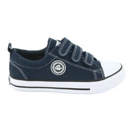 American Club American children's sneakers with Velcro LH33