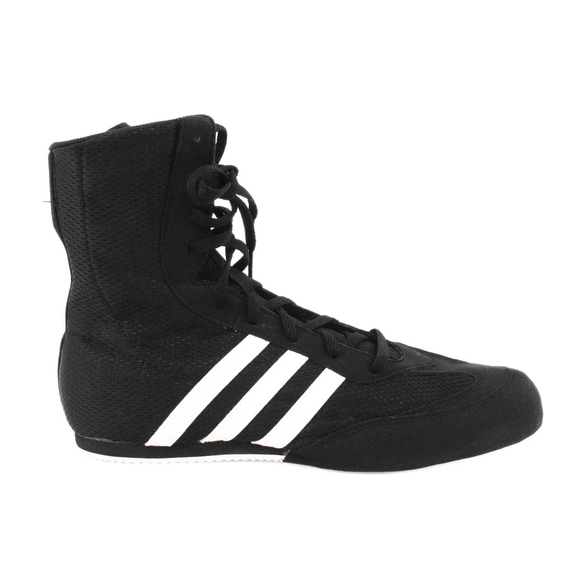 Noir adidas box hog ii boxing chaussures