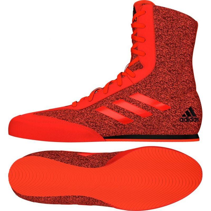 Adidas Box Hog Plus boxing shoes red