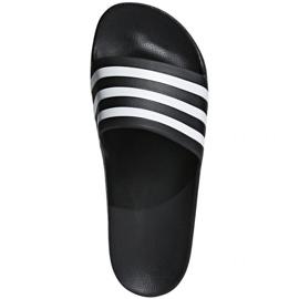 Black Adidas Adilette Aqua F35543 slippers
