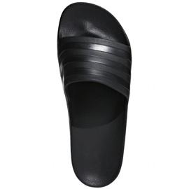 Black Adidas Adilette Aqua M F35550 slippers