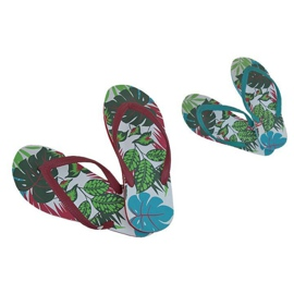 Multicolored Slippers, Speedo Jungle Thong flip-flops
