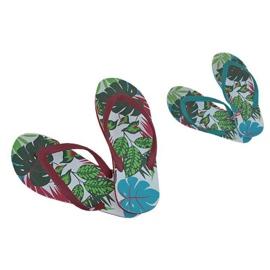 Multicolored Slippers, Speedo Jungle Thong flip-flops