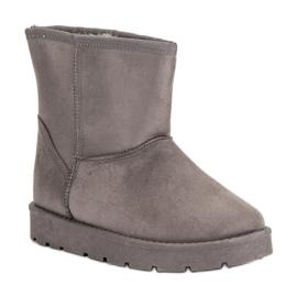 Seastar grey Mukluki snow boots