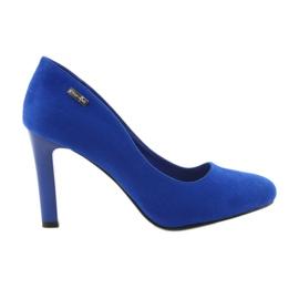 Sergio Leone blue Suede pumps 1457