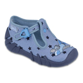Blue Befado colored children's shoes 110P345