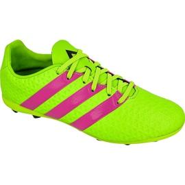 Adidas Ace 16.4 FxG Jr AF5034 football shoes green green