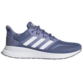 Running shoes adidas Runfalcon W F36217 blue
