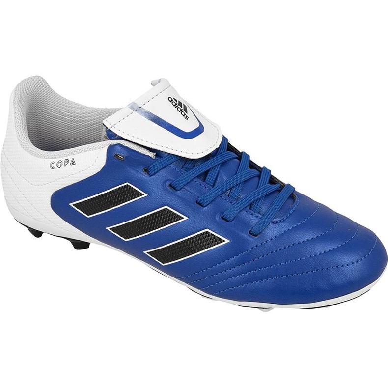 Adidas Copa 17.4 FxG Jr BA9734 football shoes blue blue