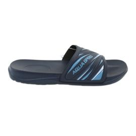 Navy Slippers Aqua-Speed Idaho 68-10