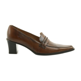 Brown Leather shoes Eksbut 864