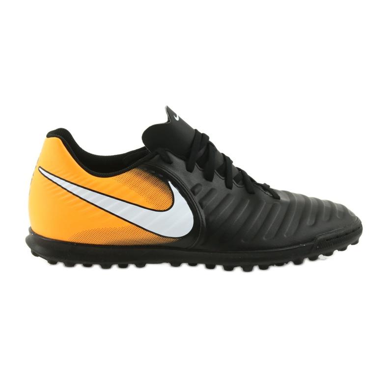 Football shoes Nike TiempoX Rio IV TF black, yellow black
